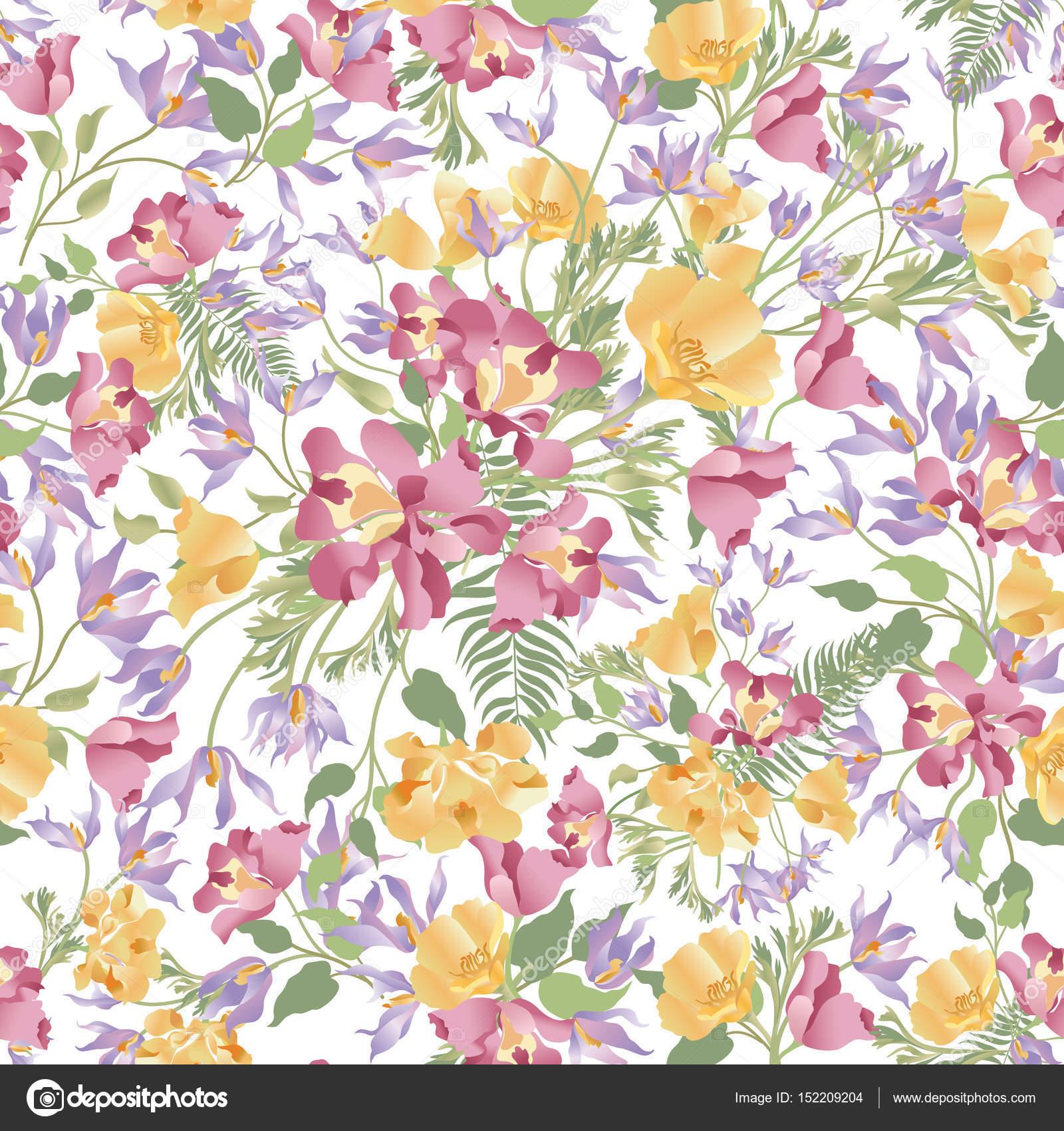 Gedeihen Garten Textur — Stockvektor © YokoDesign #152209204