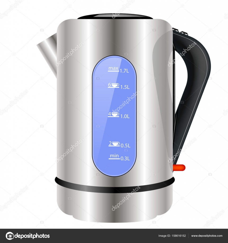 Moderne Wasserkocher moderne wasserkocher symbol stockvektor valeo6 158616152