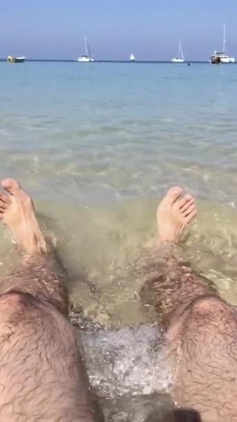 Thajsko phuket slo mo mužské nohy