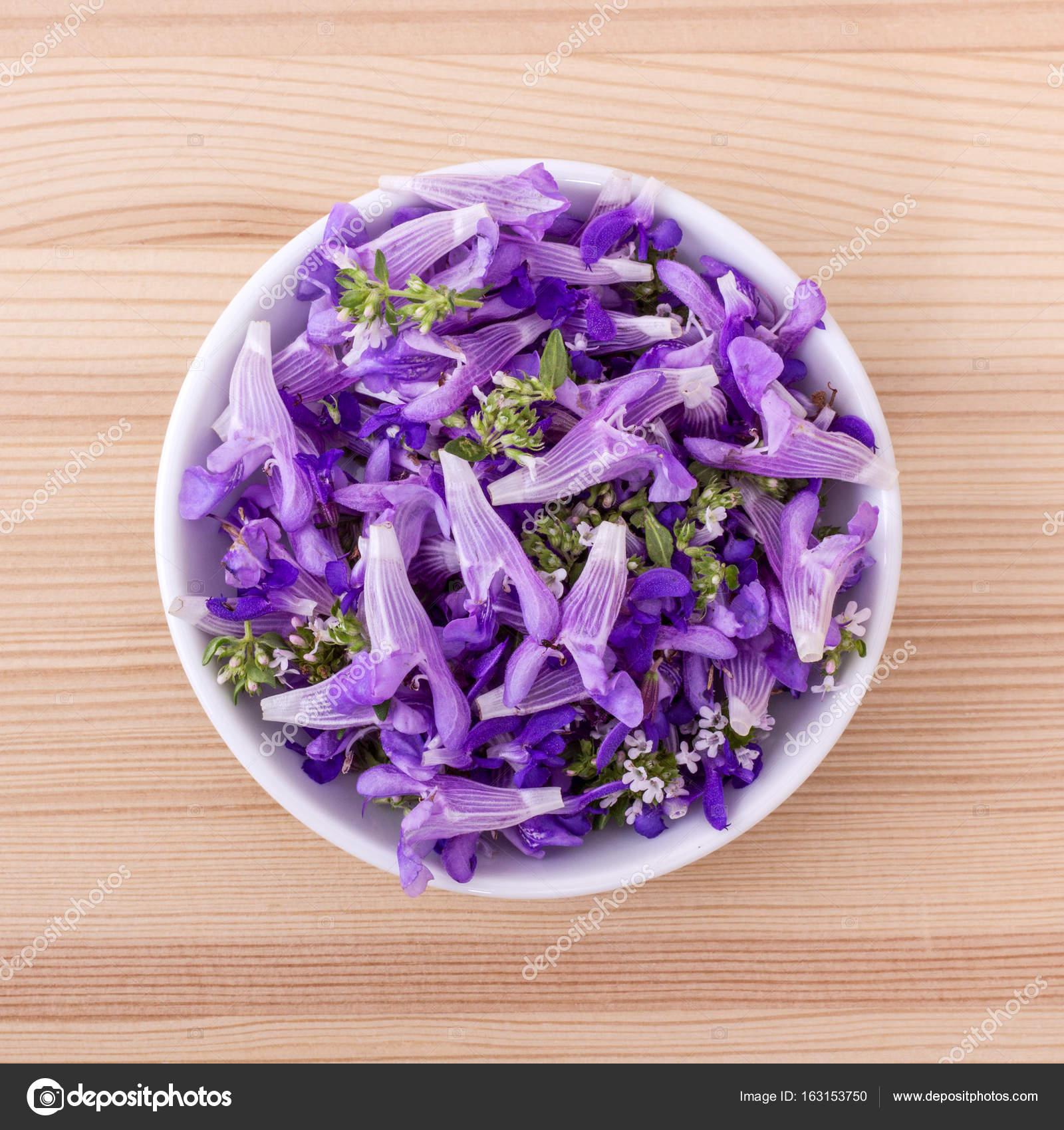 Violet Edible Flowers Stock Photo C Coramueller 163153750