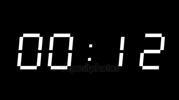 Digitální časovač 60 sekund