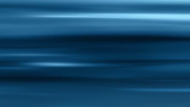 Měkké vodorovné světelné pruhy modré pozadí smyčka