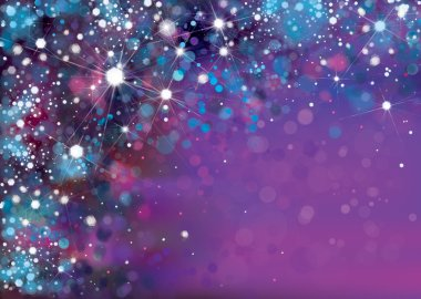 abstract violet sparkle, glitter background.