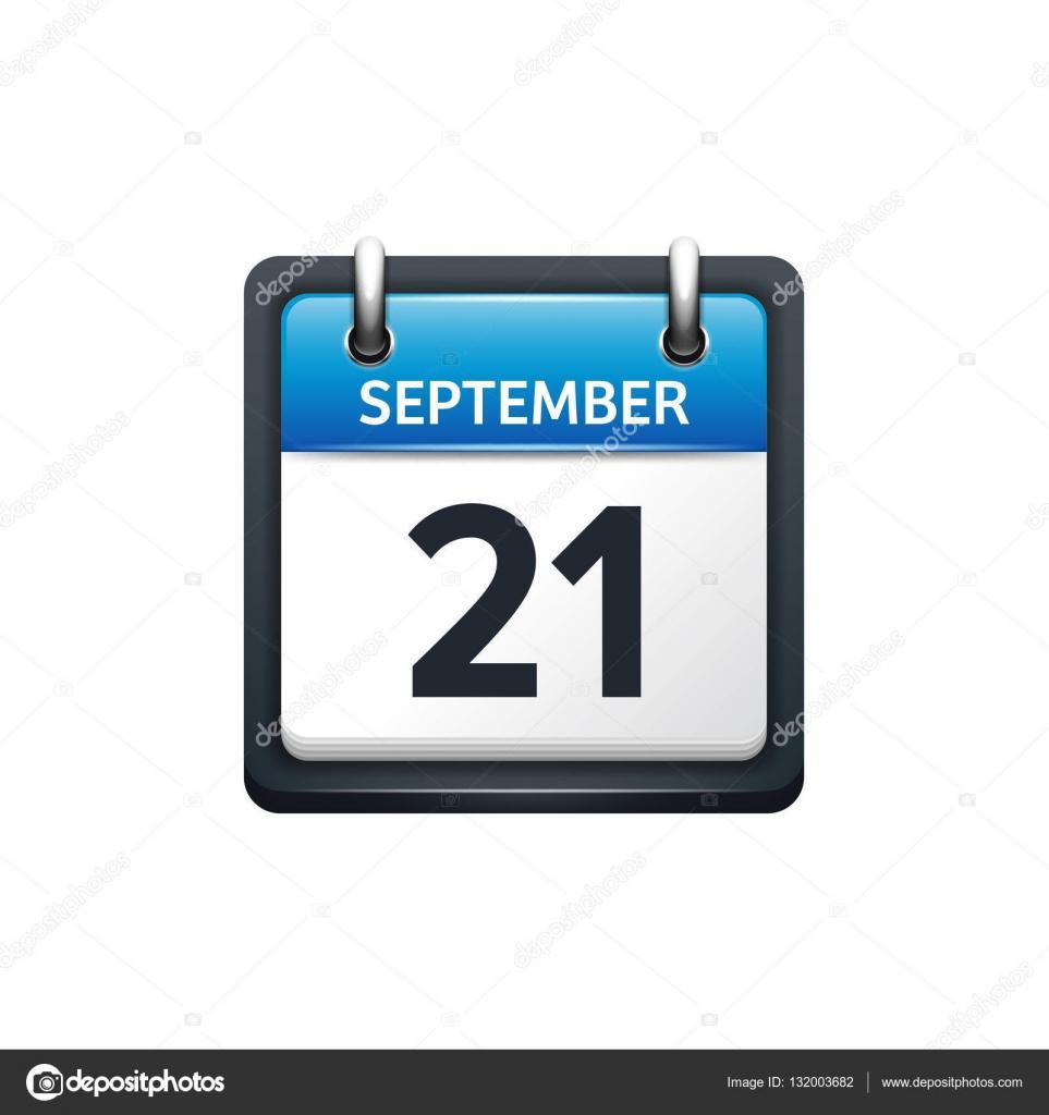 September 21. Calendar icon.Vector illustration af1932535
