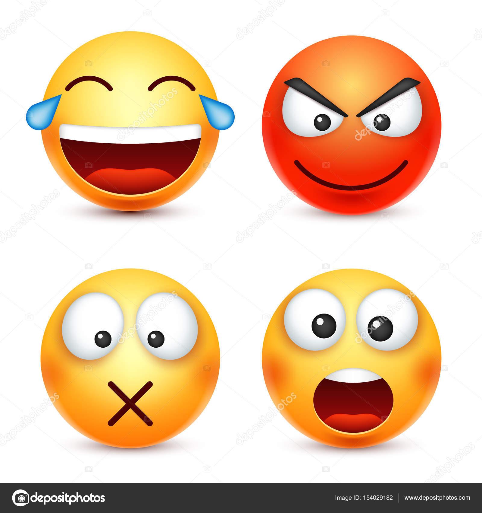 Smiley souriante d motic ne face jaune avec les - Dessin avec emoticone ...