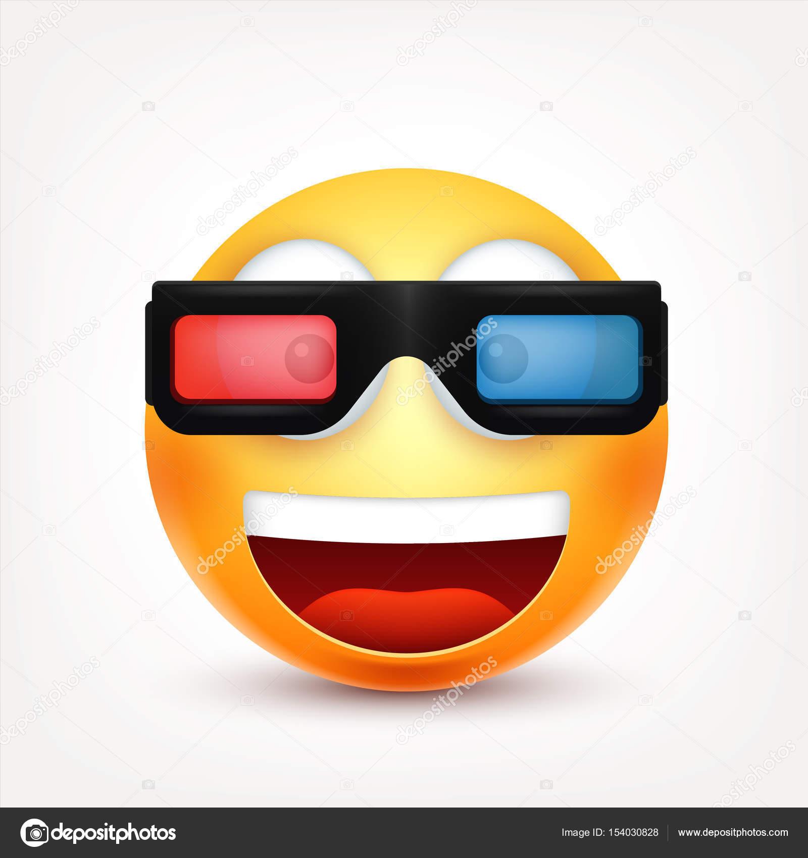 3d 3d - Smiley a dessiner ...
