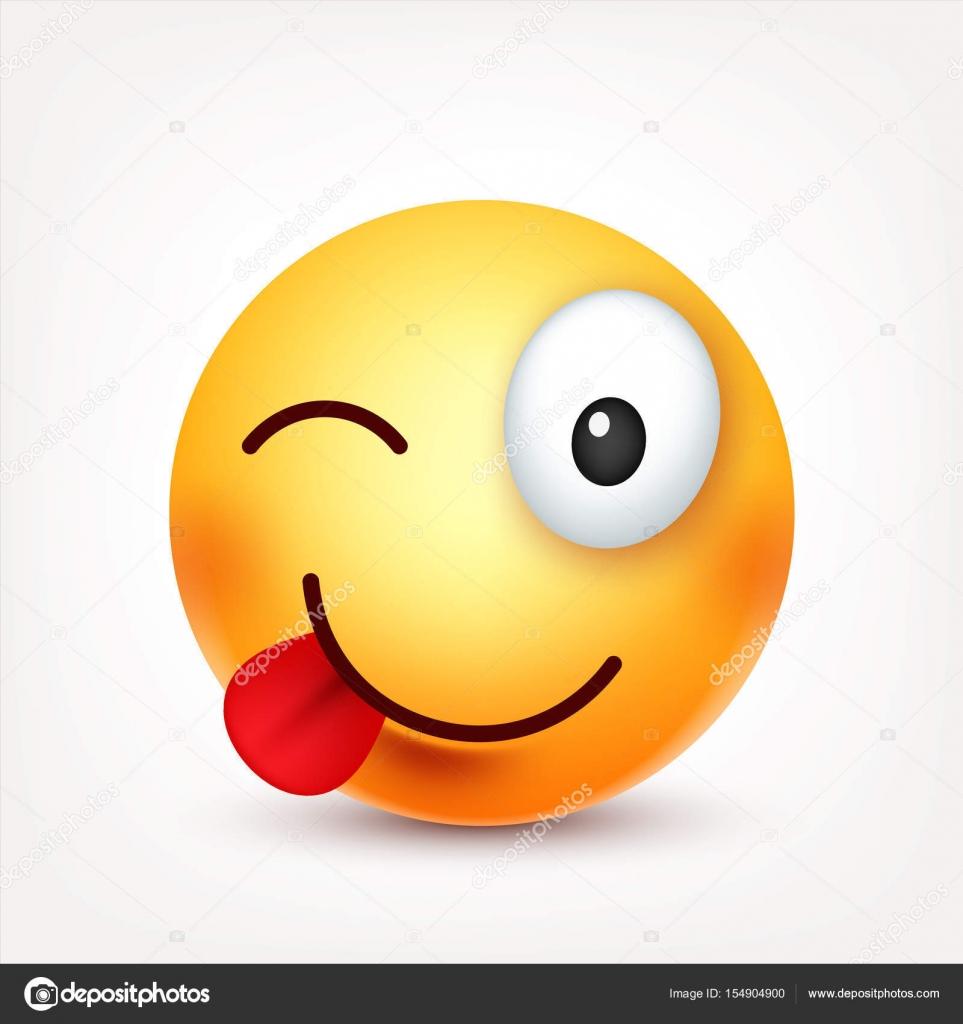 Smiley emoticon sorridente felice faccia gialla con le