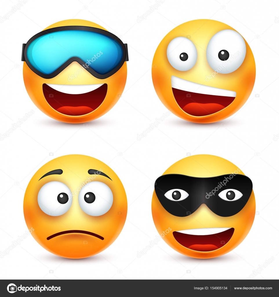 Smiley avec des lunettes souriante d motic ne face - Dessin avec emoticone ...