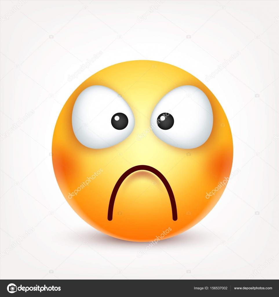 face jaune avec les motions expression du visage emoji raliste 3d personnage de dessin anim drle humeur icne web - Dessin Avec Emoji