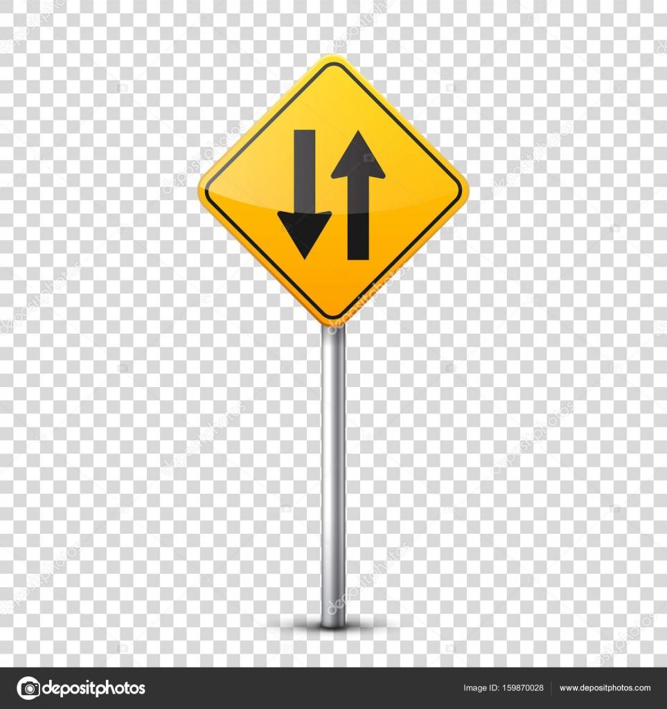 Dibujos Señales Informativas Camino Amarillo Firma