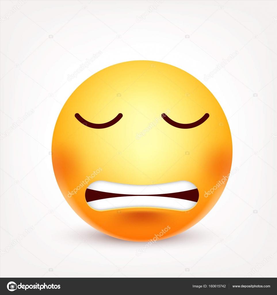 Imágenes Enojadas Animadas Smiley Emoticon Cara Amarilla Con