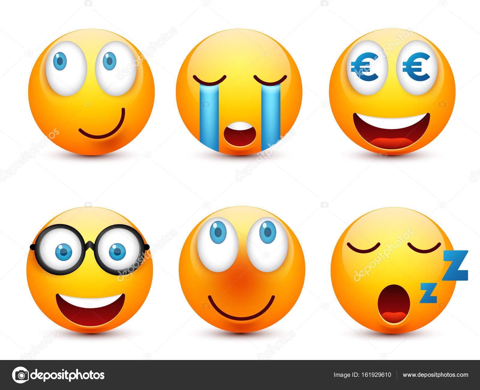 Imágenes Animadas De Caritas De Emociones Carita Sonriente Con