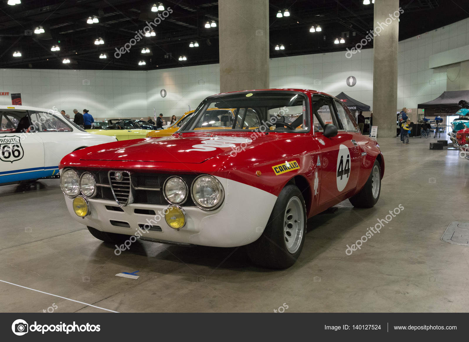 alfa romeo gta – stock editorial photo © bettorodrigues #140127524