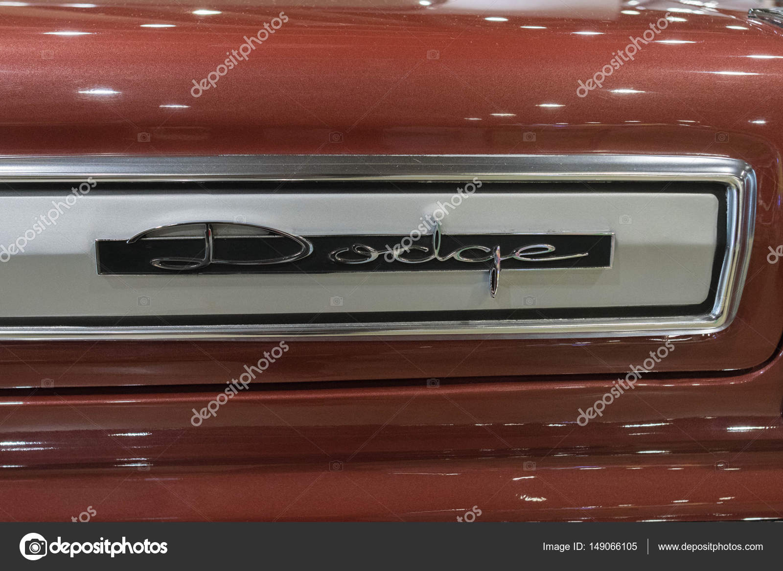 Dodge Vintage Emblem On Display Stock Editorial Photo C Bettorodrigues 149066105