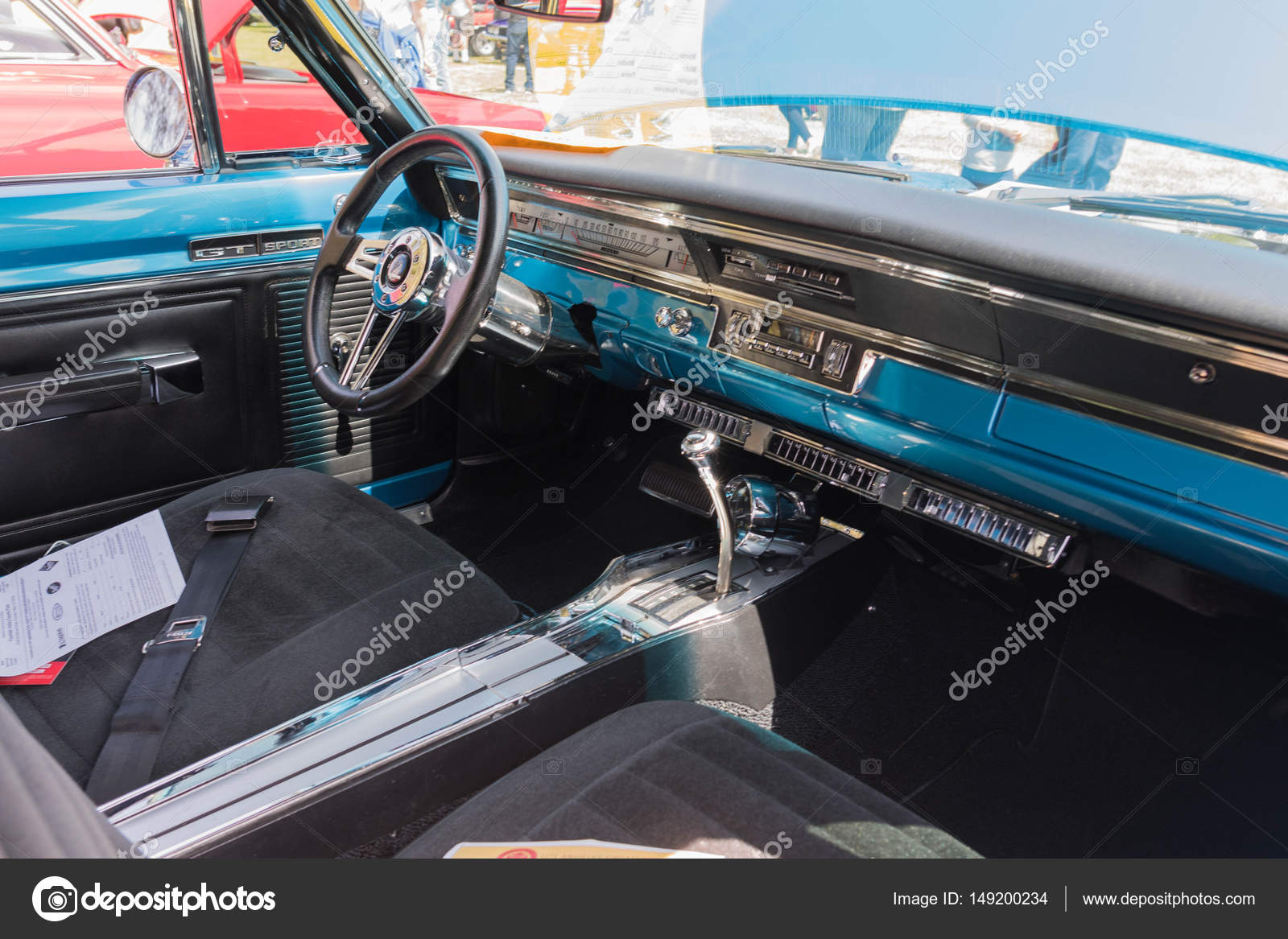 Dodge Dart GT Sport Interior On Display U2014 Stock Photo