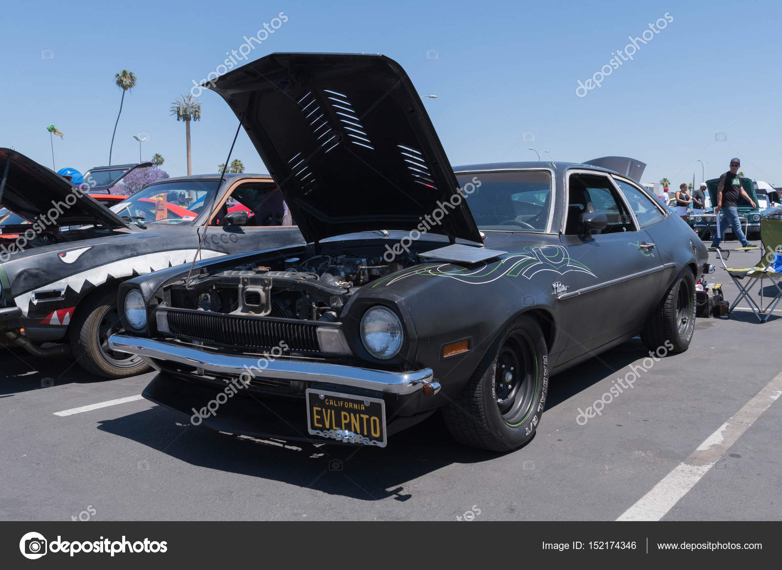 Ford Pinto On Display Stock Editorial Photo C Bettorodrigues