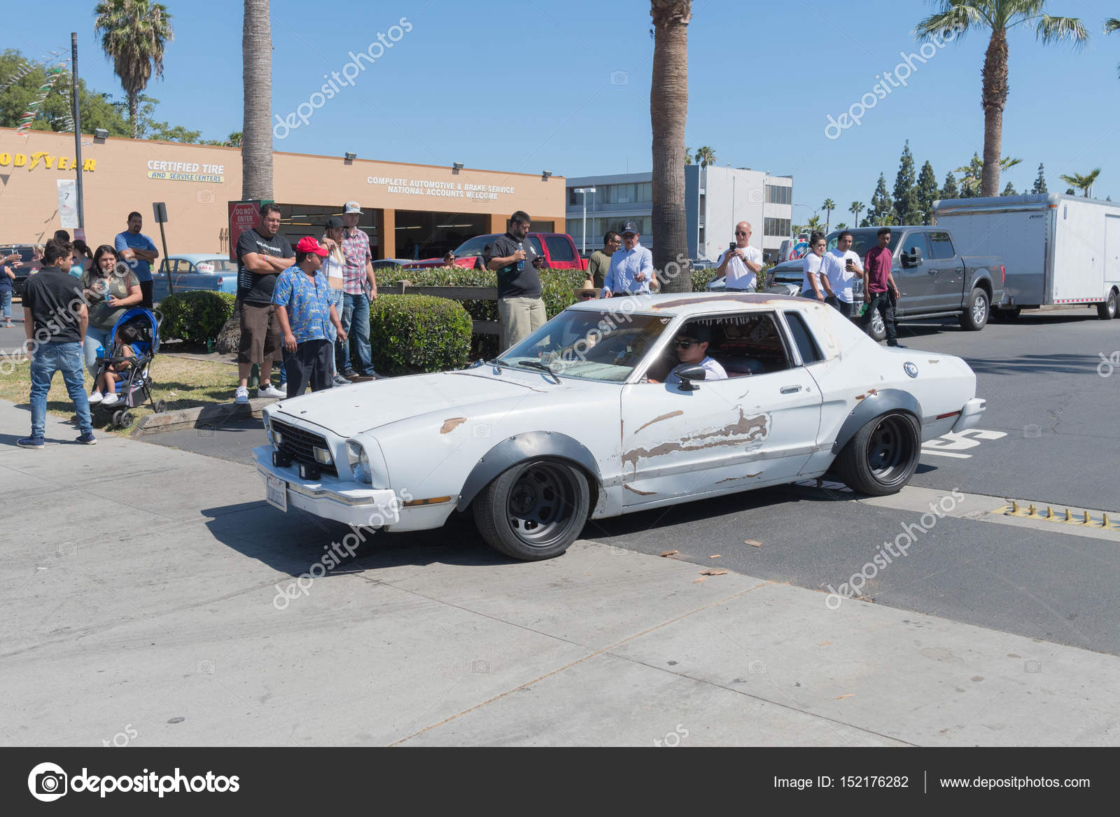 Buena park usa april 30 2017 ford mustang second generation on display during the fabulous fords forever photo by