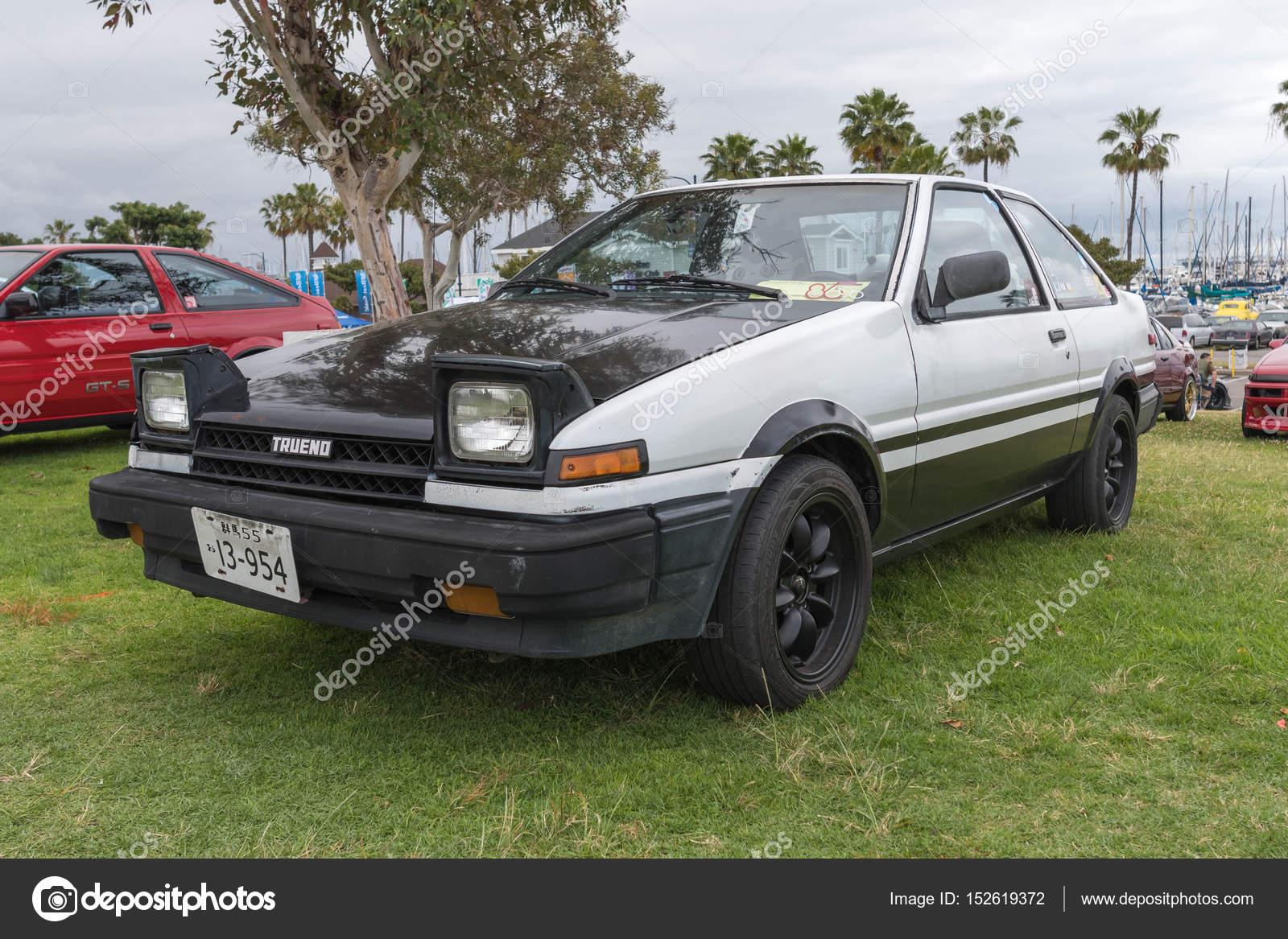 toyota corolla 1986 on display stock editorial photo rh depositphotos com  1996 Toyota Corolla 1986 Toyota Corolla GTS