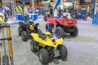 Suzuki quadricycles on display