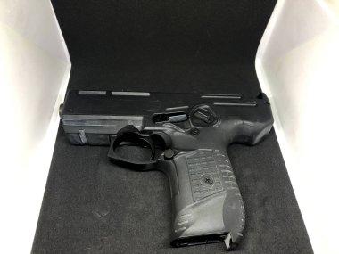 Various Pattern Pistol, Black Background