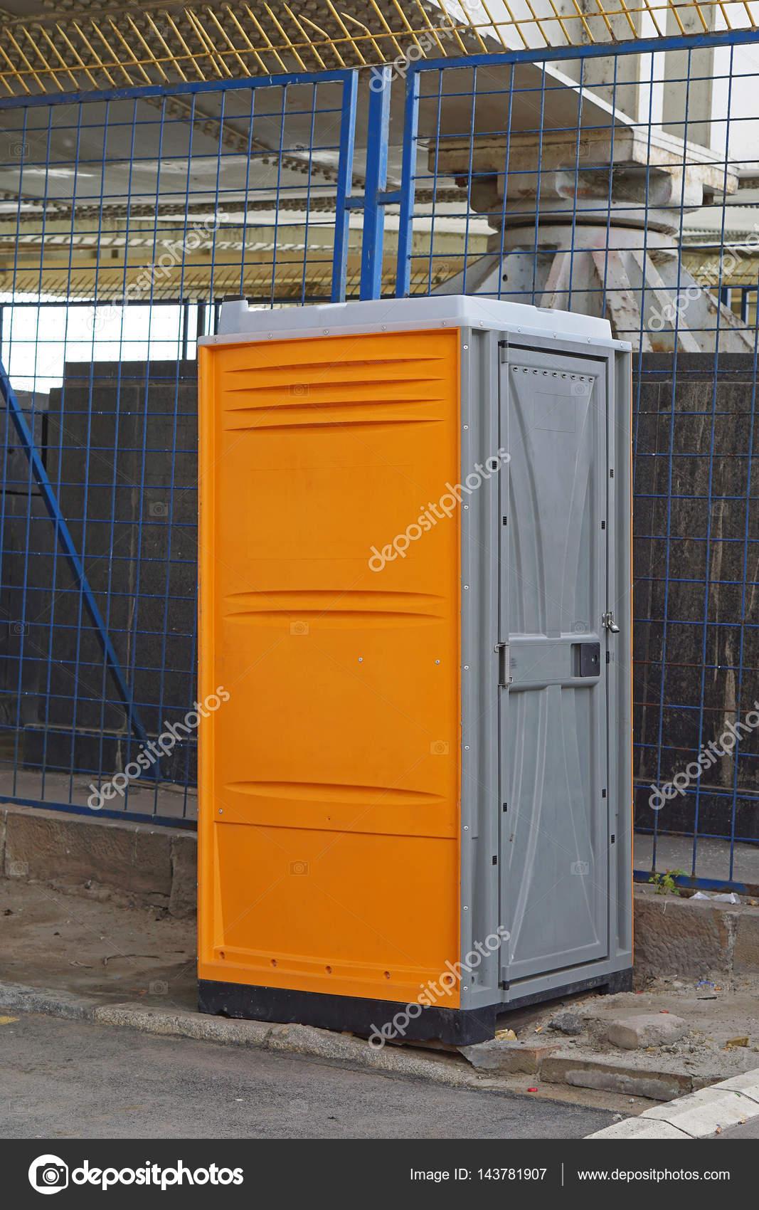 Bouw website toilet — Stockfoto © Bradatata #143781907