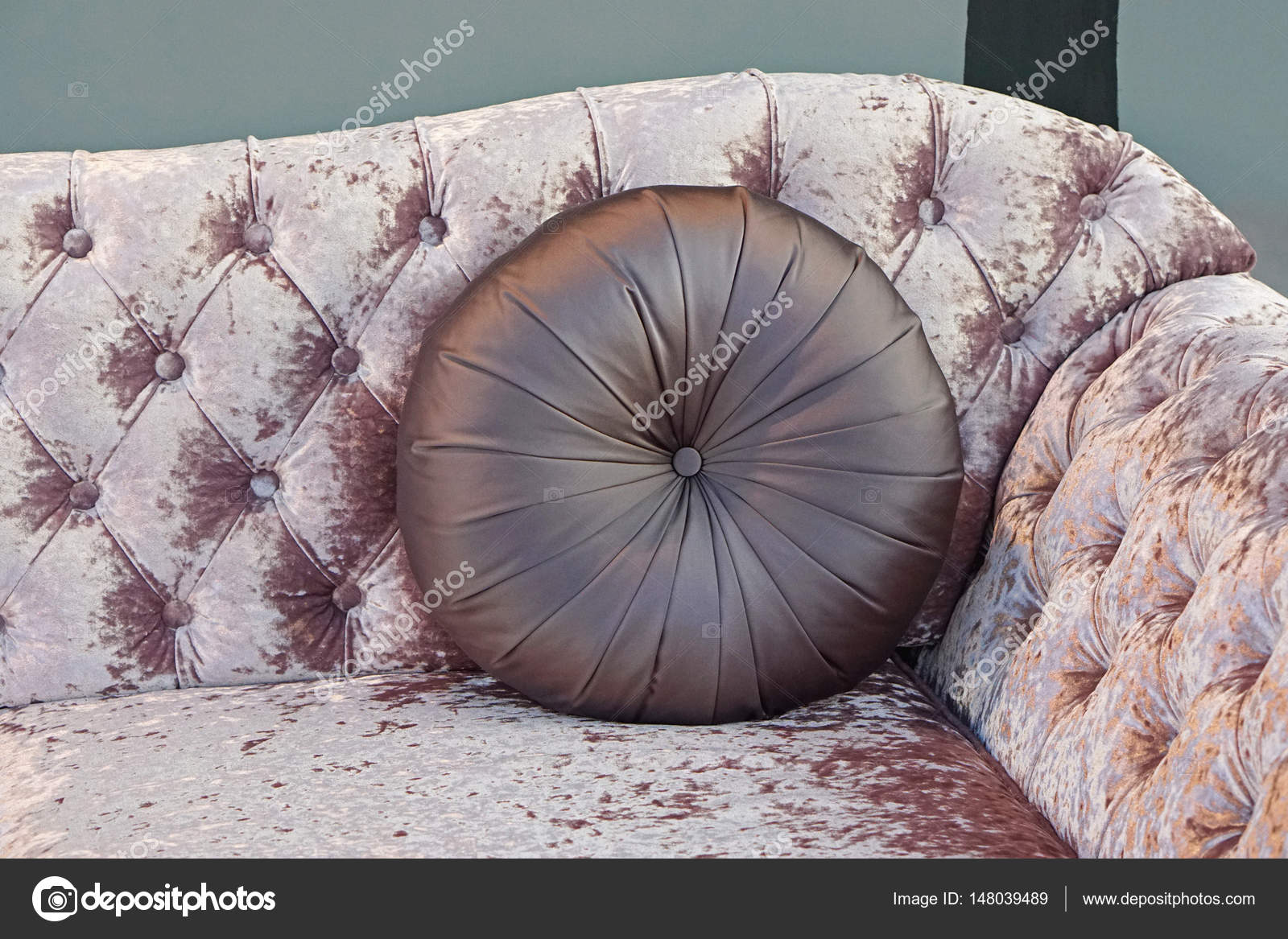 Round Leather Pillow Stock Photo C Bradatata 148039489