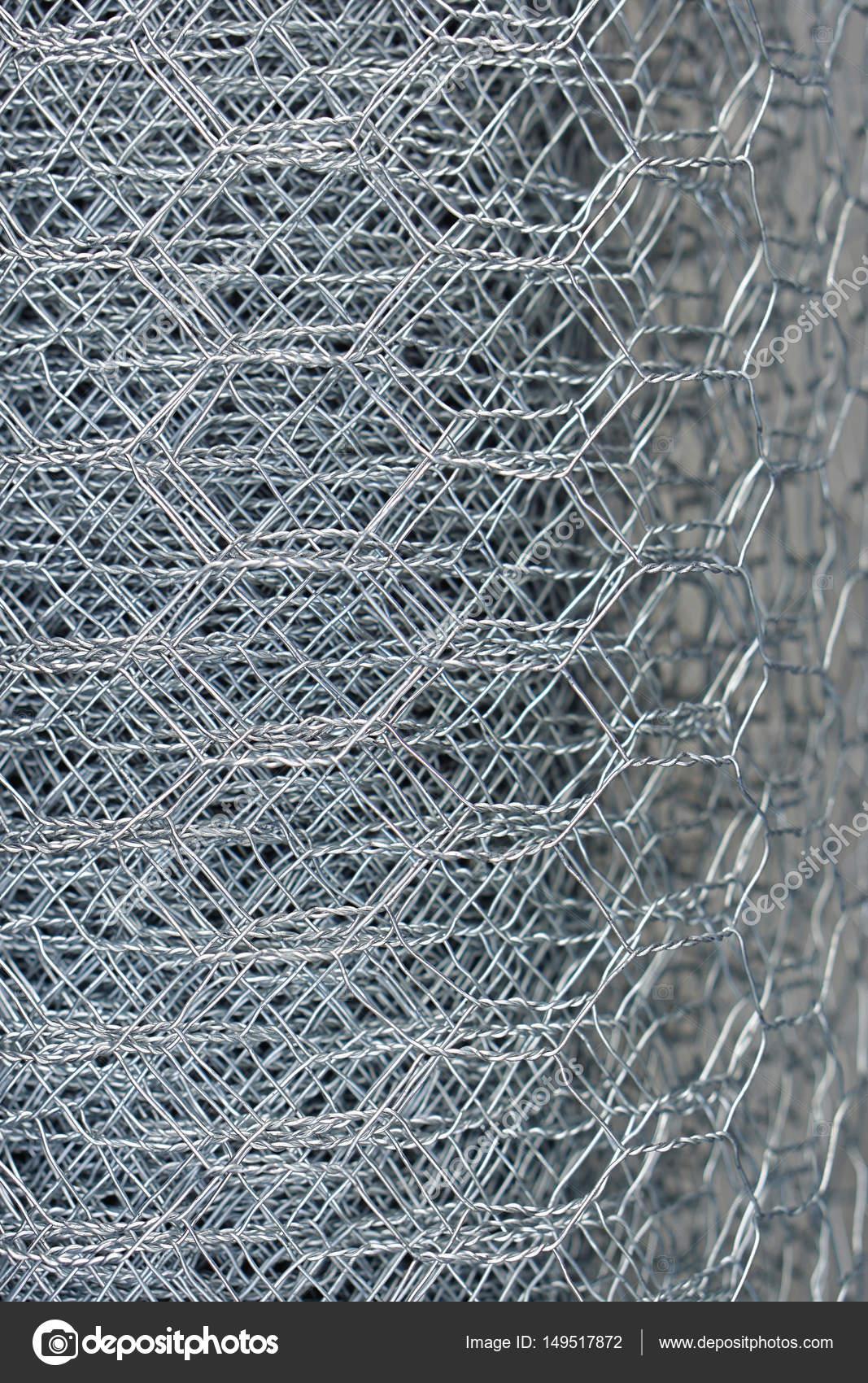 Chicken wire mesh — Stock Photo © Bradatata #149517872