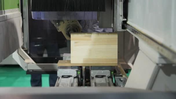 Dřevěné části cnc stroje