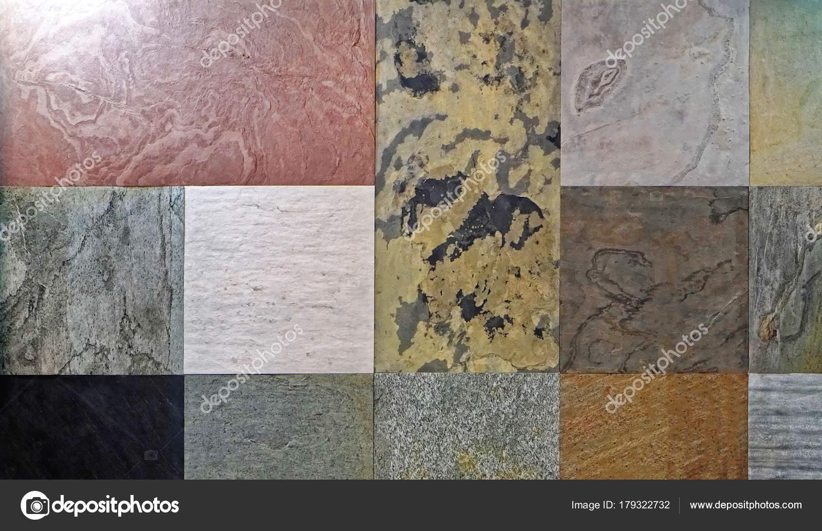 Granito e piastrelle ceramica u foto stock bradatata