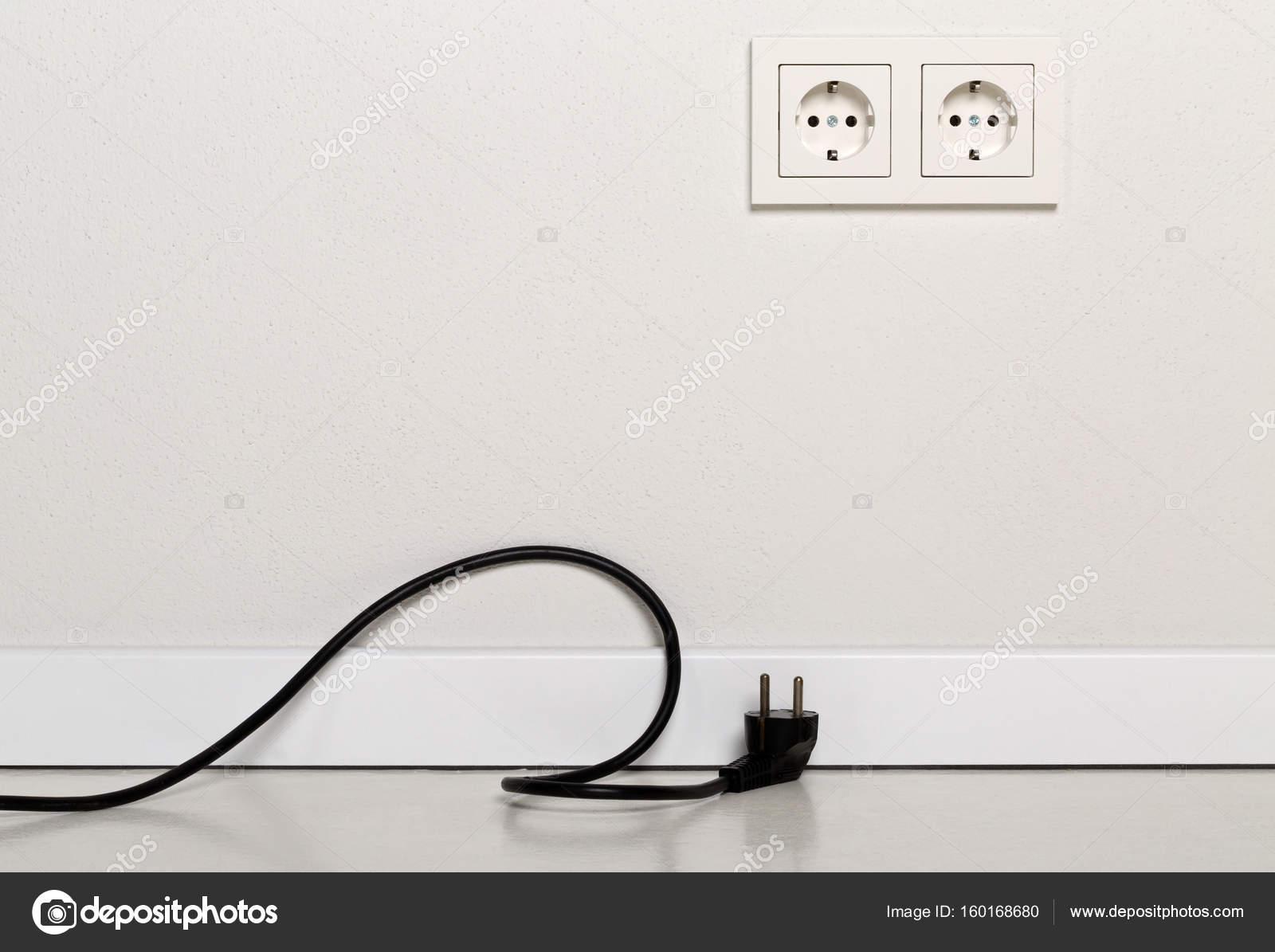 black power kabel kabel angeschlossen wird mit europäischen