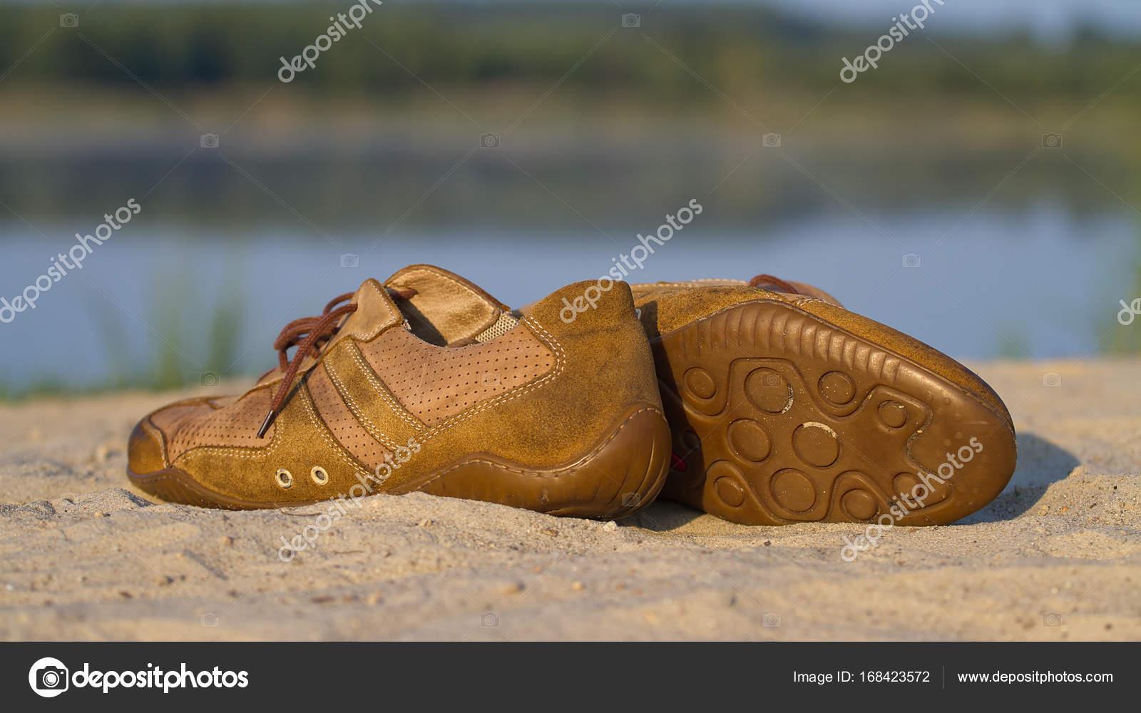 Photographie Sable Salle De Un Gym Pudiq Sur Sport Chaussures — Y8qwEw