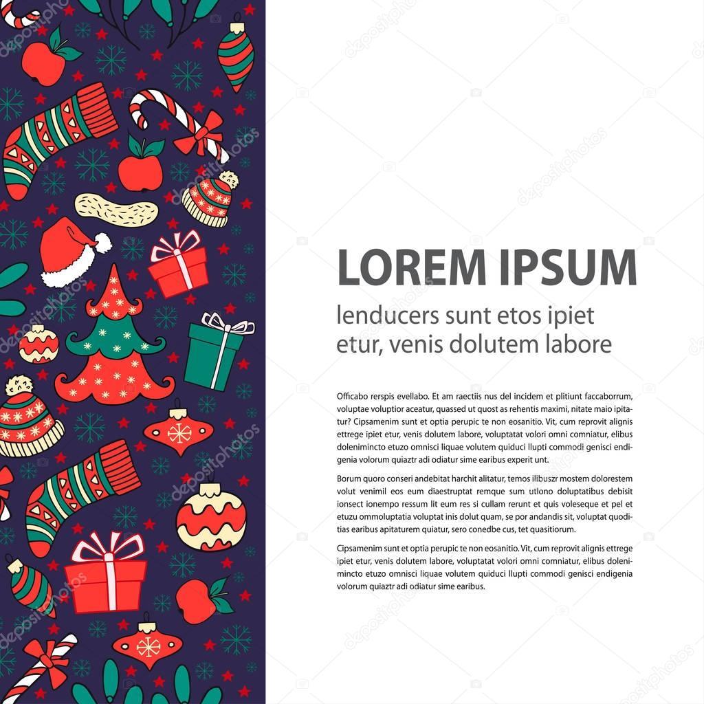 Atemberaubend Weihnachten Flyer Kostenlose Vorlage Fotos - Entry ...