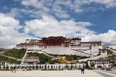 Fényképek Potala-palota. Dalai Láma hely. Lhásza, Tibet