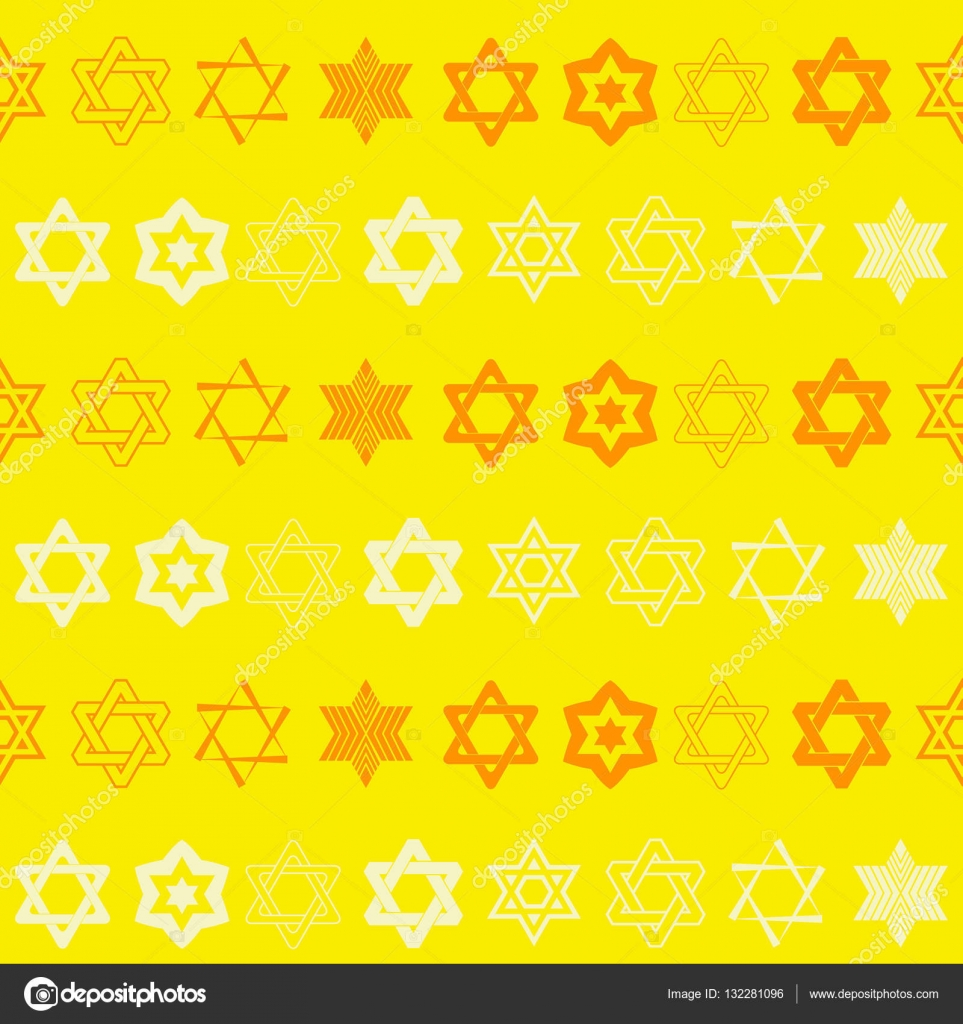 Seamless pattern with star of david traditional jewish symbol seamless pattern with star of david traditional jewish symbol for your design vector by drutska biocorpaavc Choice Image