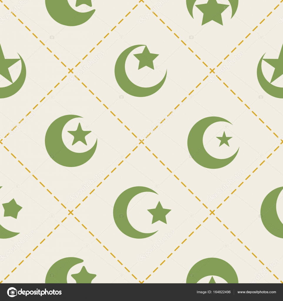 Seamless pattern with symbol of islam crescent moon stock vector seamless pattern with symbol of islam crescent moon stock vector 164822496 buycottarizona Gallery
