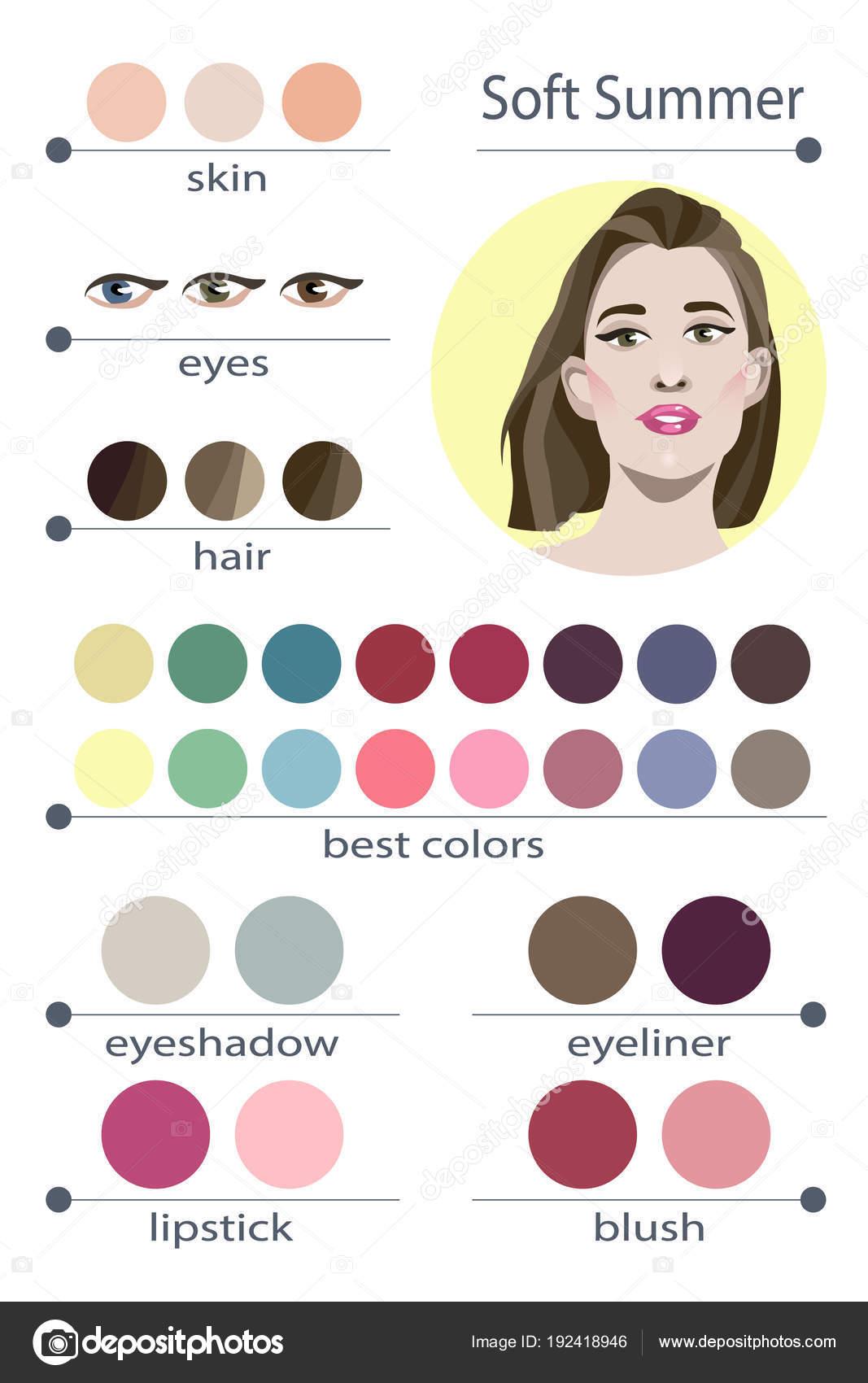 Soft Summer Color Palette Makeup