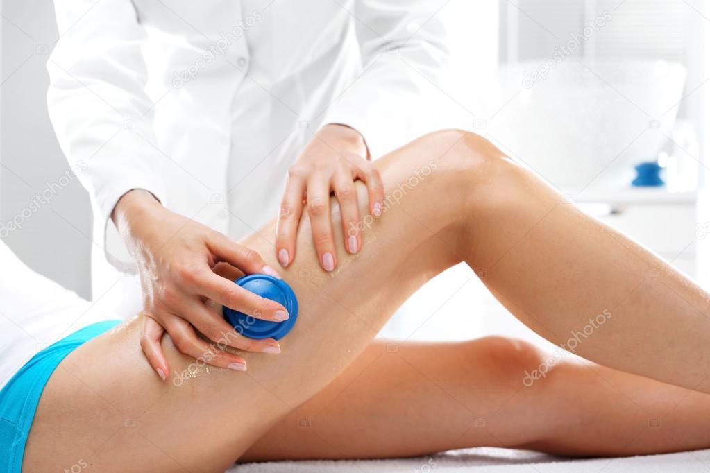 Slimming massage, body shaping — Stock Photo © robertprzybysz #126040990