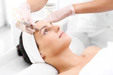 Oxy dermabrasion, peeling cosmetic