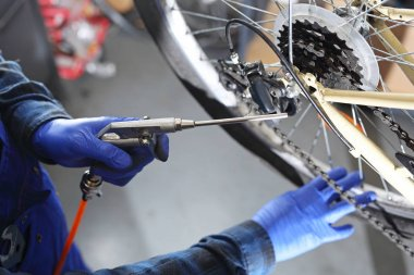 Preparing your bike for the cycling season.