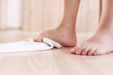 Foot correction gymnastics.