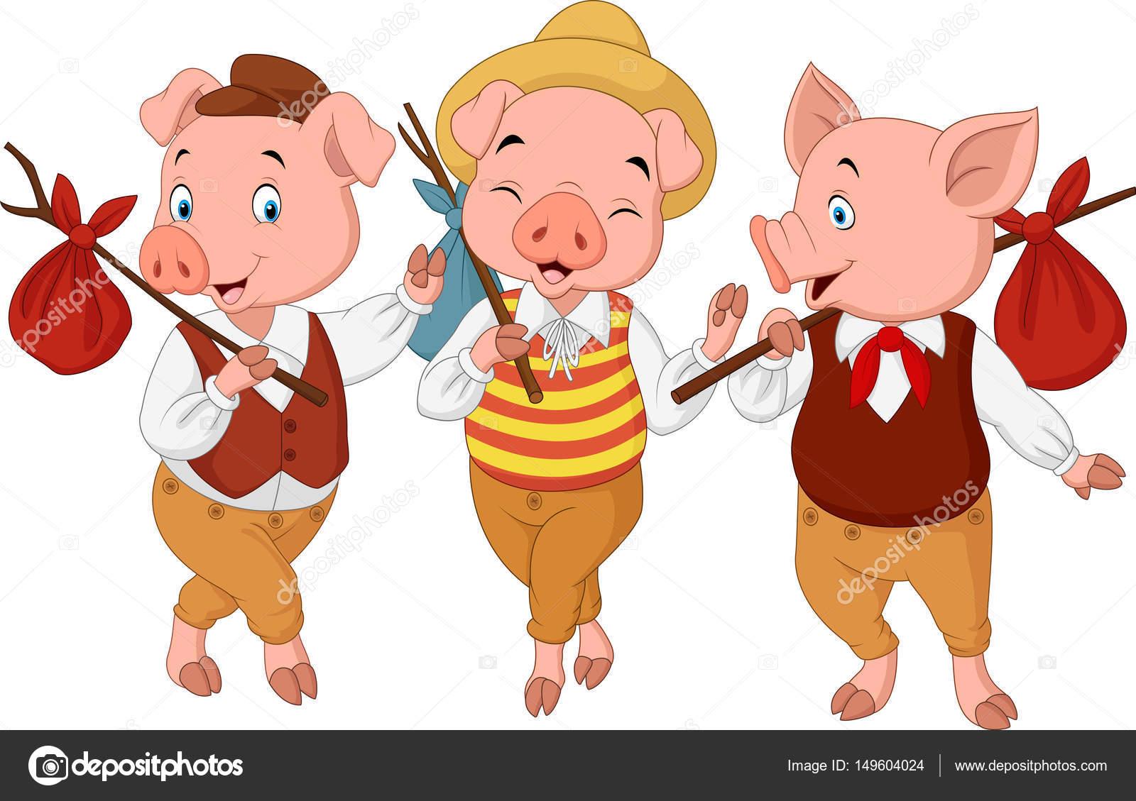Desenhos Animados Os Três Porquinhos
