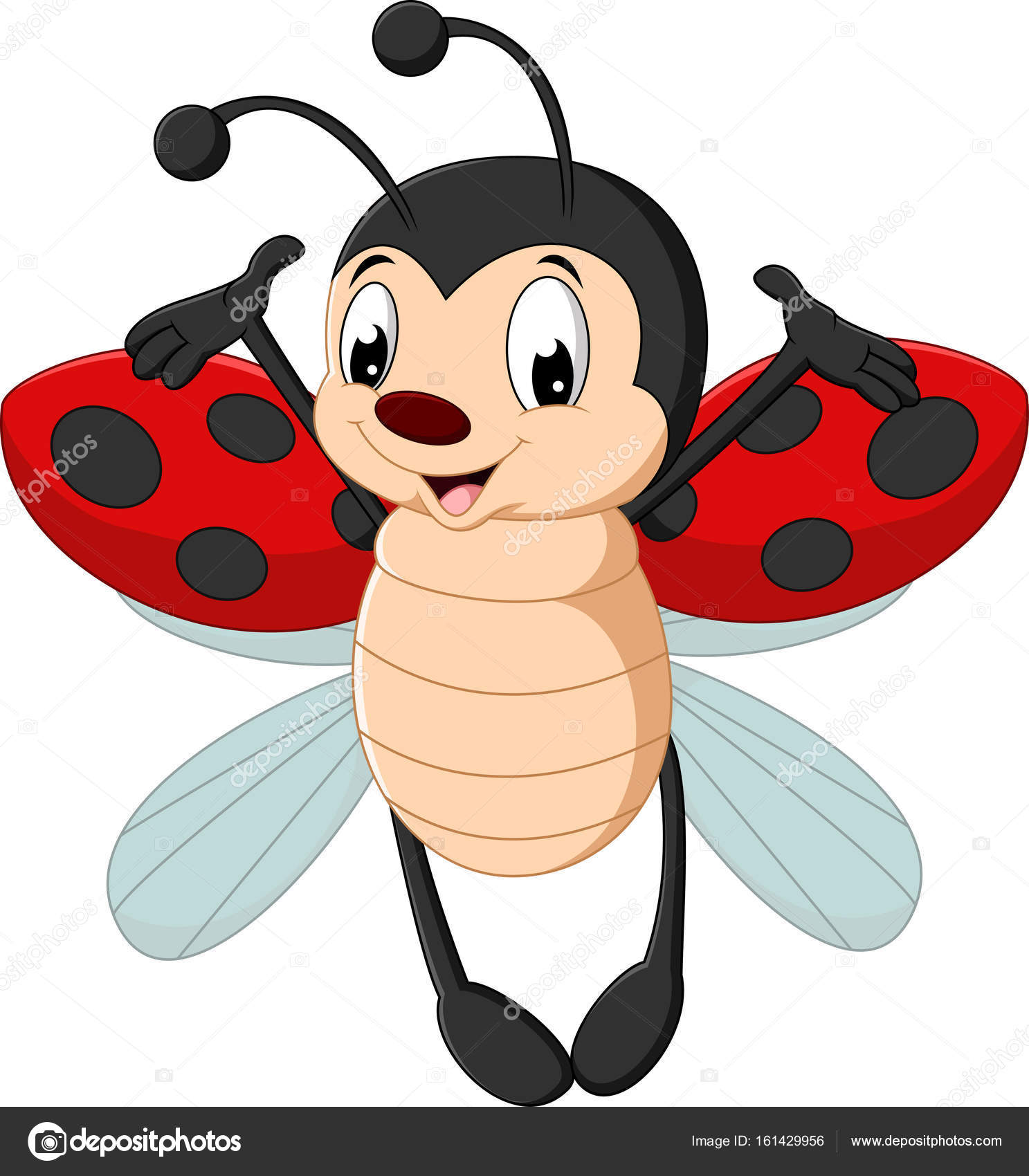 Super cute ladybug cartoon pictures to pin on pinterest