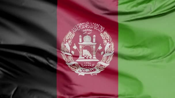 Flag of Afghanistan Realistic 3D