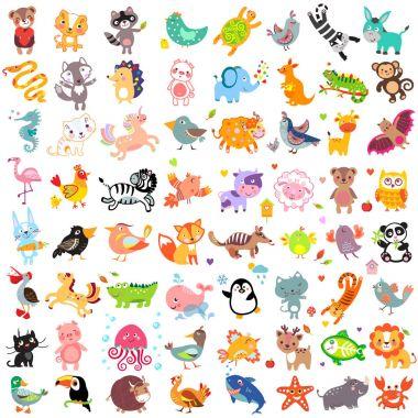 Animals 64 Set