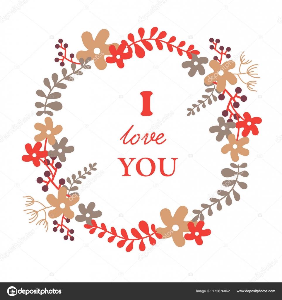 Te quiero — Vector de stock © PushnovaL #172876062