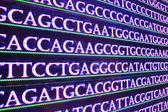 Fotografie DNA testing. Genome research.