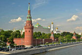 Photo Moscow Kremlin on a summer day.