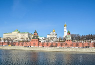Moscow Kremlin and embankment.