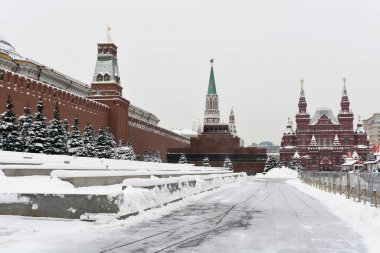 The Moscow Kremlin is a fortress in the center of Moscow.