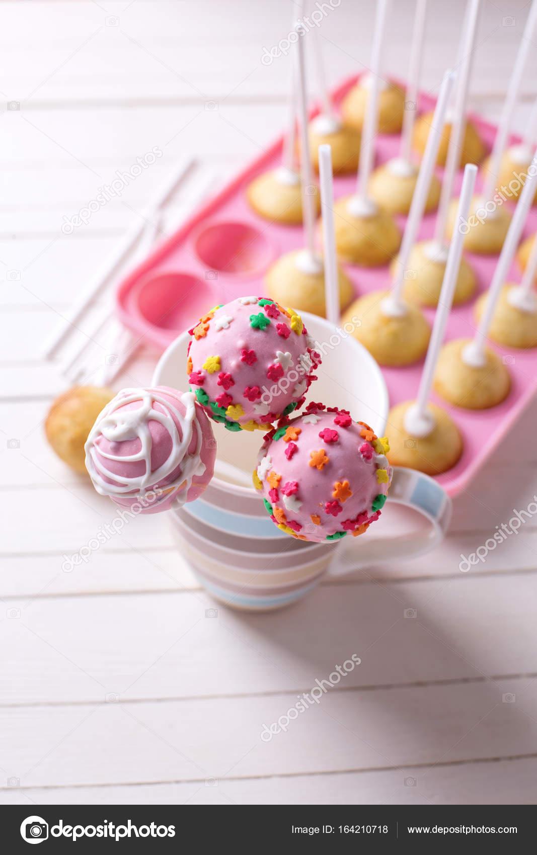 cakepops maken van cake